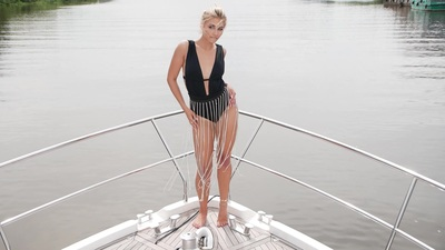 walk on the yacht